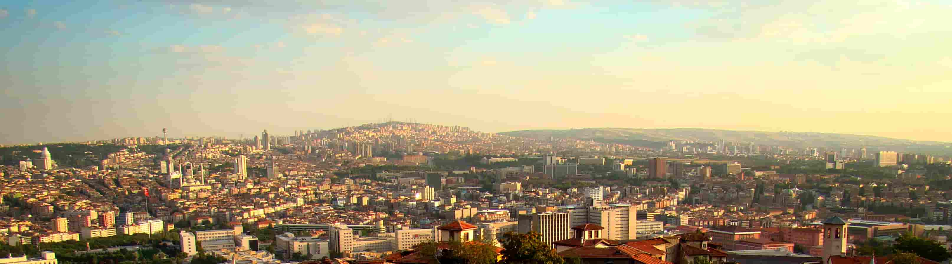 Skyline over Ankara