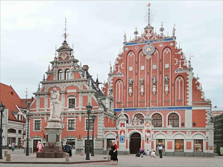 Kathedralen in Riga, letland